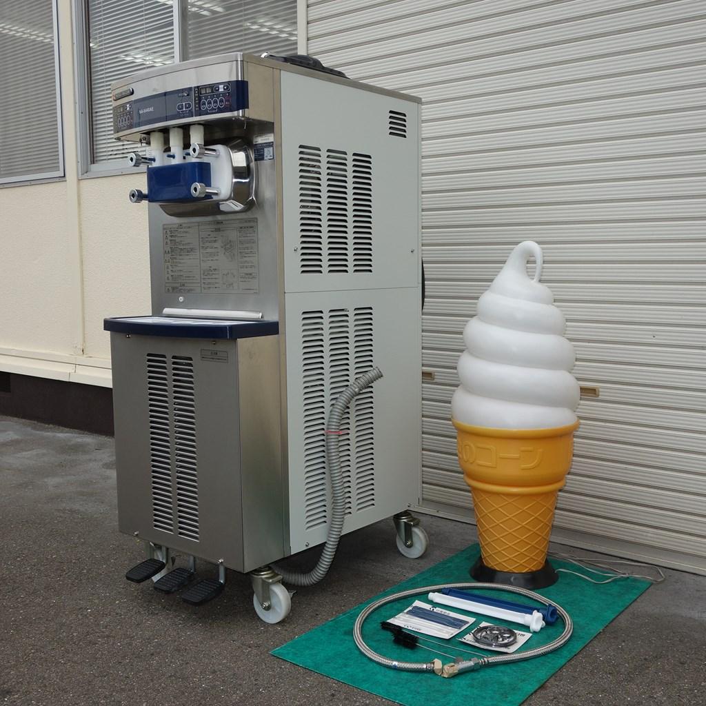 製造 機 クリーム ソフト